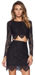 For Love & Lemons short dress Black on Tradesy