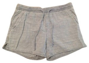Anthropologie Mini/Short Shorts Blue, white