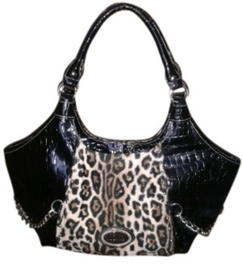 Preload https://img-static.tradesy.com/item/5397/xoxo-crocodile-and-leopard-black-and-print-animal-skin-shoulder-bag-0-0-540-540.jpg