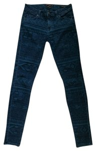 Genetic Denim Aztec Skinny Jeans-Dark Rinse