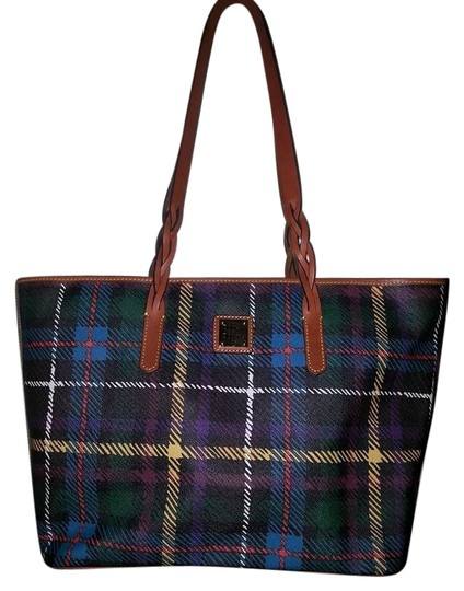 Preload https://item3.tradesy.com/images/dooney-and-bourke-tartan-braid-shopper-plaid-canvas-tote-5397697-0-0.jpg?width=440&height=440