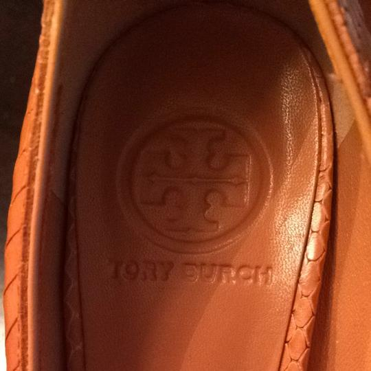 Tory Burch Chestnut Pumps