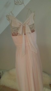 BHLDN Pale Pink Nylon Polyester Combo. Lining Polyester Spandex Combo Hitherto Feminine Bridesmaid/Mob Dress Size 2 (XS)