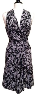 White House | Black Market Halter Size 4 Whbm Dress