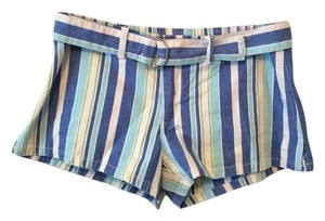 Abercrombie & Fitch Striped Free Shipping Mini/Short Shorts Multi-Stripes