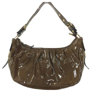 INNUE' Wetlook Leatherhobo Hobo Bag