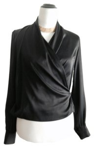 Bloomingdale's Silk Top Black