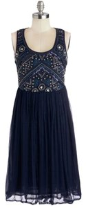 Modcloth 20's 1920's Flapper Beaded Dress