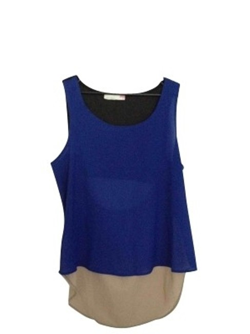 Item - Blue and Black Tunic Size 8 (M)