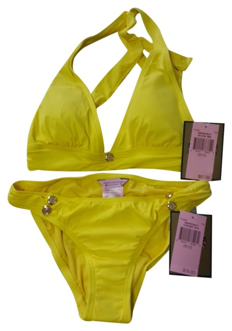 Juicy Couture Juicy Couture Yellow Bikinis Set