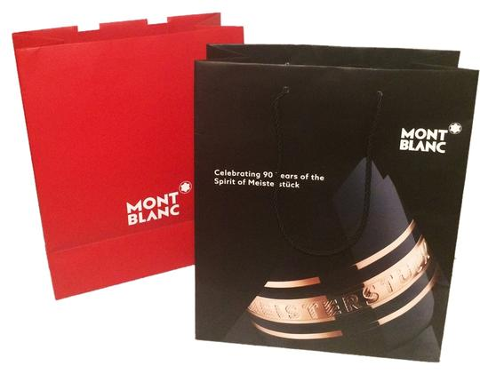 Preload https://item2.tradesy.com/images/montblanc-2-medium-shopping-bags-black-and-red-tote-5400316-0-0.jpg?width=440&height=440