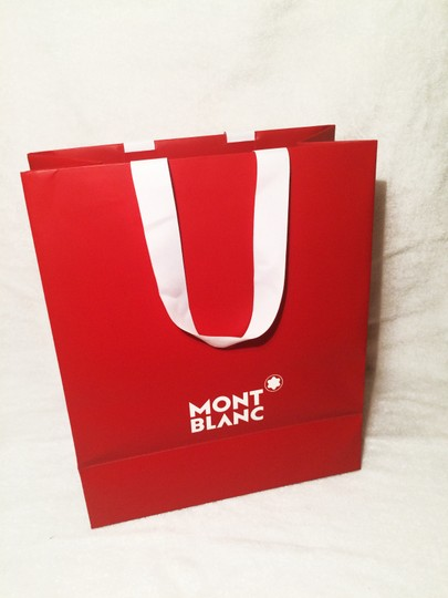 Montblanc Tote in Black and Red