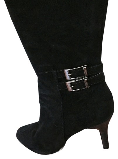 Preload https://item1.tradesy.com/images/calvin-klein-black-suede-chrome-buckled-european-bootsbooties-size-us-9-regular-m-b-5400505-0-0.jpg?width=440&height=440