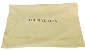 Louis Vuitton Louis Vuitton Dust Sleeper Flap Bag Yellow Cotton