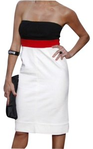 Diane von Furstenberg Red White Dress