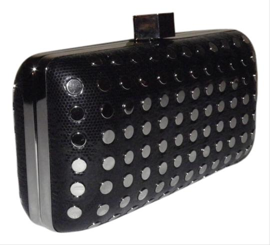 Preload https://item5.tradesy.com/images/milly-studded-minaudire-black-leather-clutch-5400664-0-0.jpg?width=440&height=440