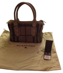 Grey Burberry Satchels - Up to 90% off at Tradesy 8e59434311