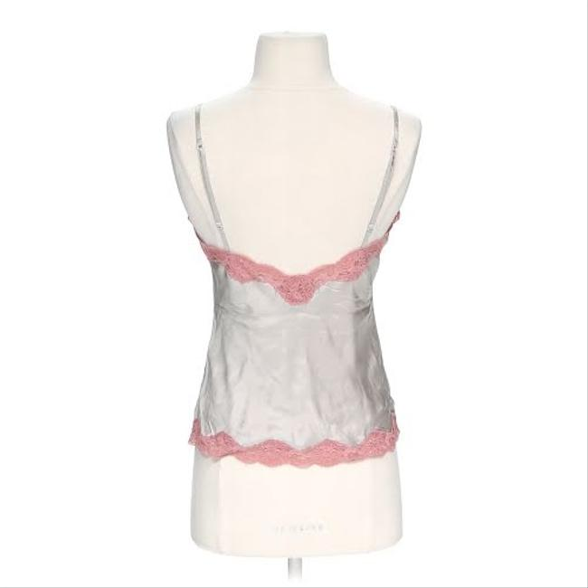 Marciano Lace Trim Silk Camisole Top