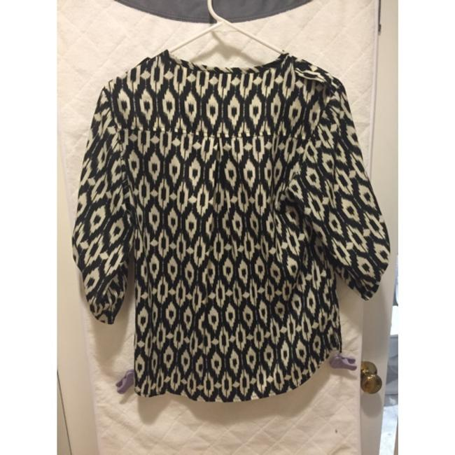 Collective Concepts Ikat Top Black
