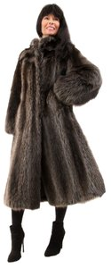 Other Real Raccoon Raccoon Raccoon Mink Fur Coat
