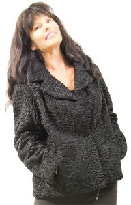 Saga Furs Fur Persian Lamb Lamb Real Fur Fur Coat