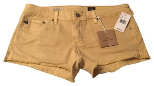 AG Adriano Goldschmied Mini/Short Shorts Yellow