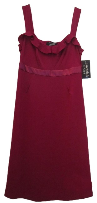 Preload https://item2.tradesy.com/images/essentials-by-abs-dress-fuchsia-5401576-0-0.jpg?width=400&height=650