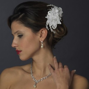 Elegance By Carbonneau Flower And Crystal Comb