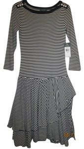 Lauren Ralph Lauren short dress Navy Blue/White Stripe on Tradesy