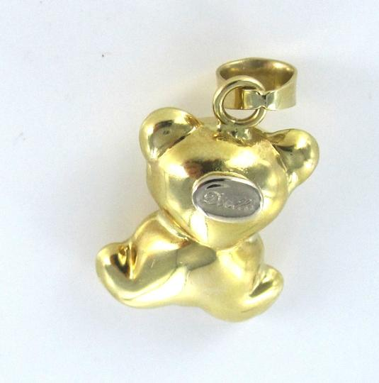 Other 18KT karat Yellow Gold Pendant TEDDY BEAR estate 014603201