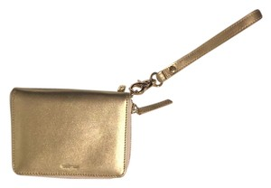 russel & hazel BRAND NEW Gold iPhone Wristlet