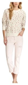 Current/Elliott Bohemian Anthropologie Free People Hippie Distressed Color Pastel Boyfriend Cut Jeans-Distressed