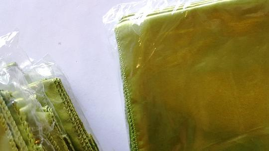 40 Green Chartreuse Satin Chair Sashes