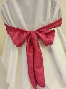 Free Ship Taffeta Chair Sashes-44