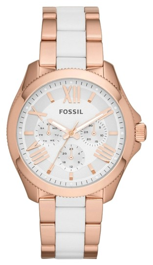 Fossil FOSSIL Cecile Multifunction Stainless Steel and Nylon Watch - Rose