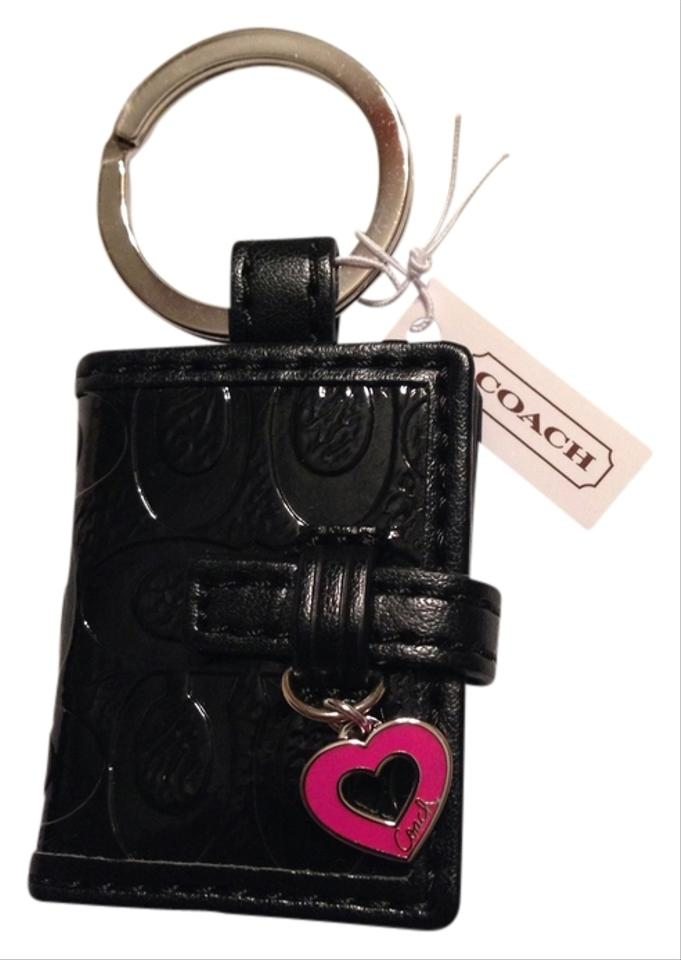 Coach Embossed Black Patent Leather Miscellaneous 51 Off