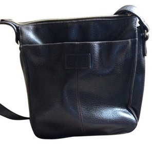 Relic Leather Lined Outside Pockets Shoulder Bag
