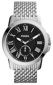 Fossil FOSSIL MEN GRANT SLIM THREE-HAND STAINLESS STEEL WATCH