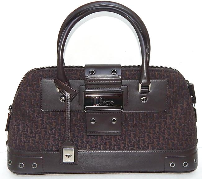 Item - Top Handle Cd issimo Street Chic Brown Canvas Shoulder Bag