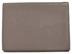 Hermès HERMES Mini Agenda Notebook Cover Leather Gray France
