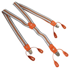 Hermès Hermes Suspenders Orange Ginza Limited Edition