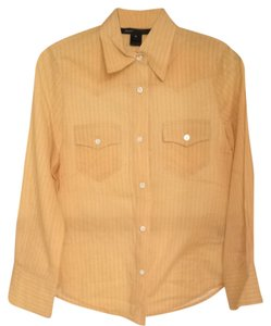 Marc Jacobs Button Down Shirt Light Orange