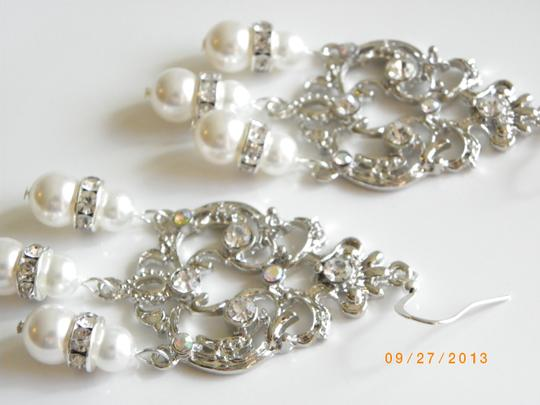 Preload https://item2.tradesy.com/images/chandelier-swarovski-crystal-and-pearl-victorian-vintage-style-earrings-540651-0-0.jpg?width=440&height=440