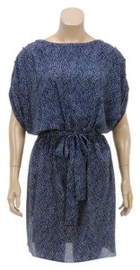 Rachel Zoe short dress Blue/Multicolor on Tradesy