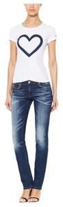 Love Moschino Skinny Jeans-Medium Wash