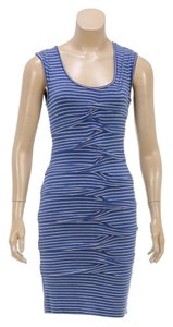Nicole Miller short dress Blue/Gray on Tradesy