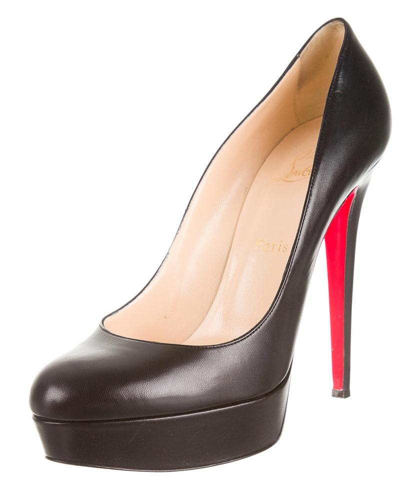 louis vuitton fake shoes - Artesur ? christian louboutin round-toe platform Bianca pumps ...