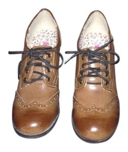 Rock Candy Oxford Bootie Classic Vintage brown Boots