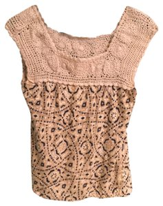 Lucky Brand Top Tan