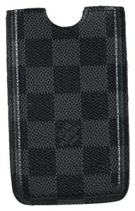 Louis Vuitton * Louis Vuitton Damier Blackberry Phone Case - Black